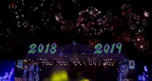 【跨年晚会】朝鲜平壤 Le feu d'artifice de Pyongyang 2019